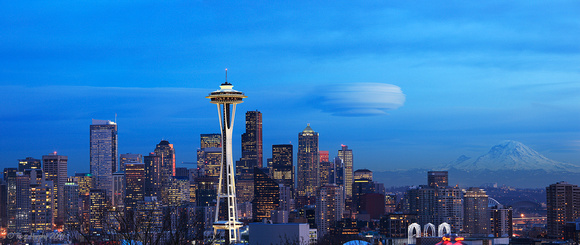Seattle Lenticular Cloud