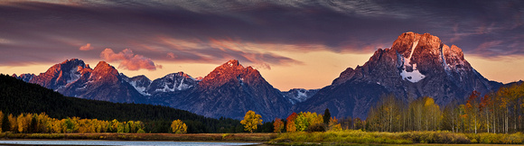Fall at the Snake River Bend
