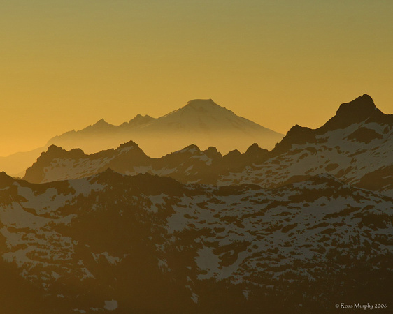 Mt Baker and the North Cascades