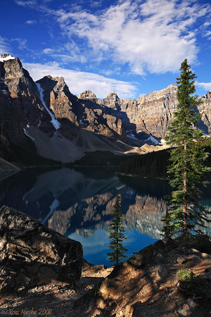 Valley of the 10 Peaks and Moraine Lake