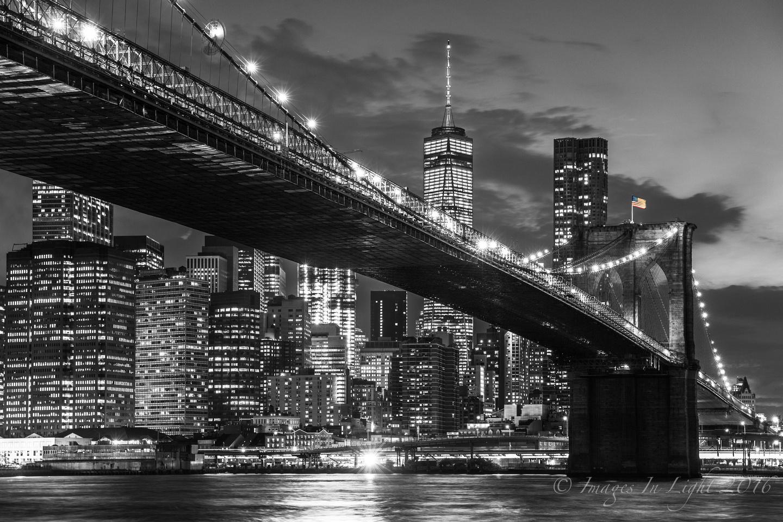 Images In Light: Latest Work &emdash; Brooklyn Bridge